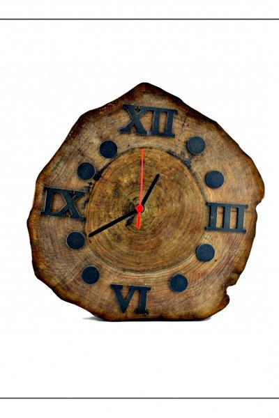 Ahşap El yapımı Duvar Saati